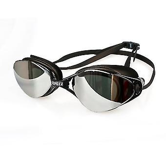 Unisex-volwassen zwembril gespiegeld (kleur2)