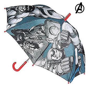 Foldable Umbrella Marvel Grey (Ø 78 cm)