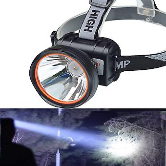 Super helle einstellbare wiederaufladbare Scheinwerfer Taschenlampe Taschenlampe Stirnlampe für Bergbau Camping Wandern