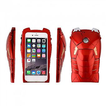 3D Marvel Ironman Hard Back Cover Case Call Led Light Up Case für Iphone 6
