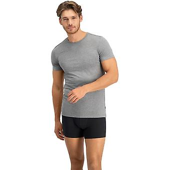 Levis Solid Rundhals 2 Pack T-Shirts - Mid Grey