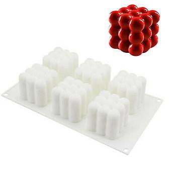 Siliconen vierkante schimmel chocolade cake snoep DIY bakken dessert 3D kubus schimmel tool