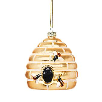 Sass & Belle Bee Hive Christmas Decoration