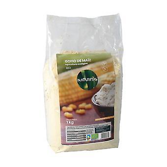 Organic corn gofio 1 kg of powder