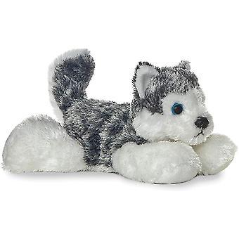 "Aurora Mush HUSKY 8"" Flopsie Plush Siberian Alaskan Dog Peluche Animal"