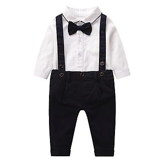 Baby Boys Gentleman 2st Outfits Kostymer
