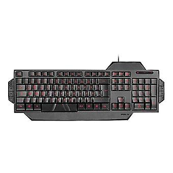 SPEEDLINK Rapax Stealth Compact rouge LED Illumination Gaming Keyboard - noir
