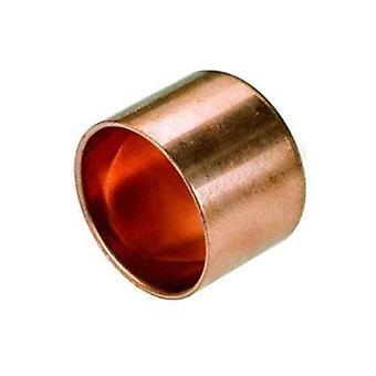 Raccord femelle se terminant bouchon cuivre Connect soudure eau Installation 15-28mm
