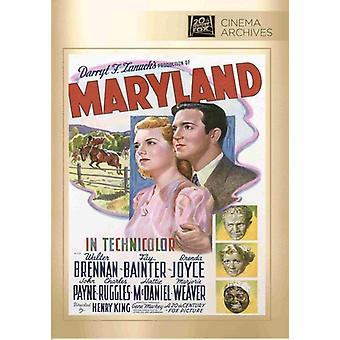 Importação de EUA de Maryland [DVD]