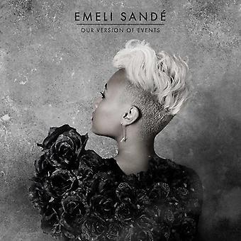 Emeli Sande - importazione USA la nostra versione di eventi [CD]