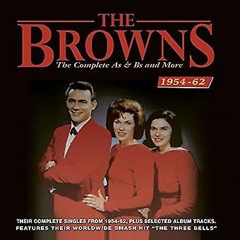 Importer des Browns - Browns-complet comme & USA Bs etPLUS 1954-6 [CD]
