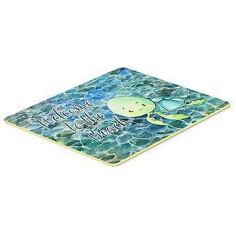 Carolines Treasures  BB8520CMT Sea Turtle Welcome Kitchen or Bath Mat 20x30