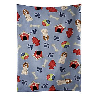 Dog House Collection Russian Spaniel Kitchen Towel