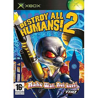 Destroy All Humans 2 (Xbox) - New