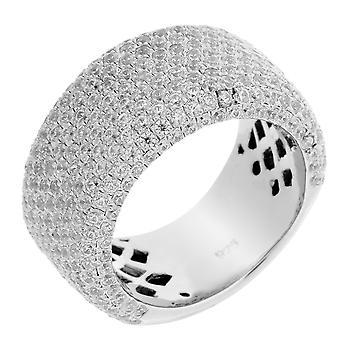 Orphelia Silver 925 Ring T/Tour Micro Pave  Zirconium   ZR-3518