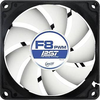 Arctic F8 PWM PST PC fan Black (W x H x D) 80 x 80 x 25 mm