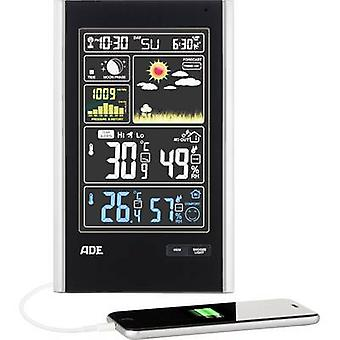 ADE WS 1600 Wireless digital weather station Forecasts for 1 day