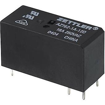 Zettler Electronics AZ762-1A-48DE PCB relay 48 V DC 16 A 1 maker 1 pc(s)