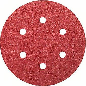 Bosch Accessories 2608607837 Router sandpaper Hook-and-loop-backed, Punched Grit size 120 (Ø) 150 mm 50 pc(s)
