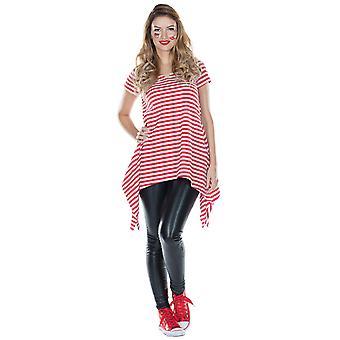 Striped tunic women's Halloween costume Carnival