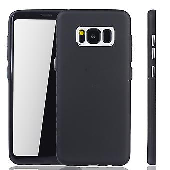 Samsung Galaxy S8 - mobiltelefon tilfelle for Samsung Galaxy S8 - mobile sak i svart