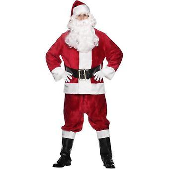 زي القطيفة سانتا الدعوى، حجم واحد
