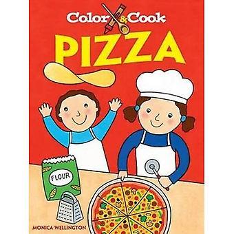 Farbe & Cook Pizza (Dover Malbuch)