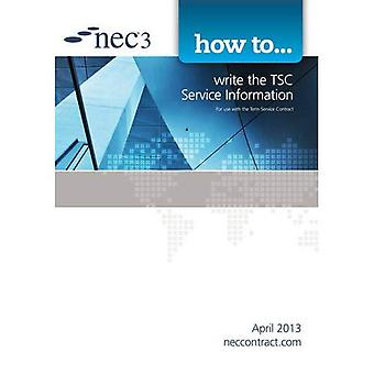 How to Write the TSC Service Information