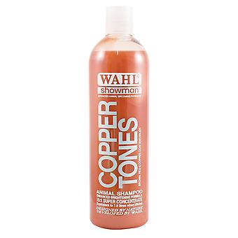 Wahl Showman Copper Tones Natural Colour Enhancing Dog Shampoo