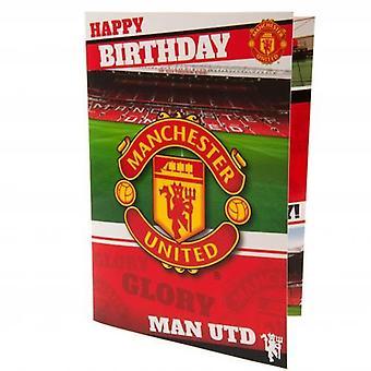 Carte d'anniversaire musicale Manchester United