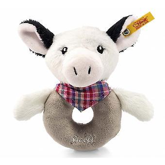 Steiff Cowaloo koe rammelaar 12  cm