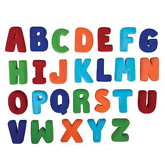Rubbabu Soft Plush Small Alphabet Set Upper Case Sensory Educational Toy