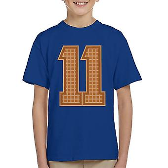 Eleven Eggos College Style Stranger Things Kid's T-Shirt