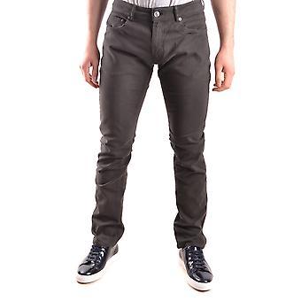 Pt05 Ezbc084034 Men's Grey Cotton Jeans