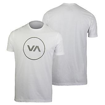 RVCA Mens VA Sport Position T-Shirt - White/Gray