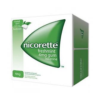 Nicorette Freshmint Gum 4Mg 25S