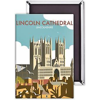 Линкольн собора стали Холодильник магнит