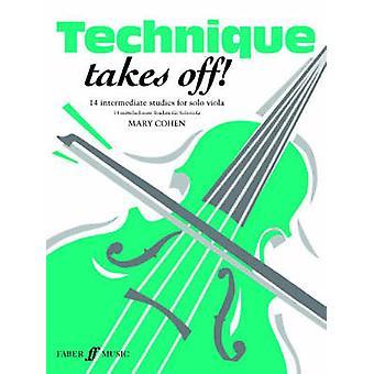 Technique Takes Off! Viola & Piano Accompaniment by Mary Cohen -