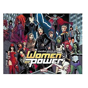 Heroes of Power - the Women of Marvel Standee Punch-Out Book by Marvel