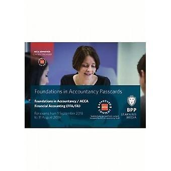 FIA fondations de la comptabilité financière FFA (ACCA F3)-cartes de passage-97