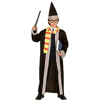 Wizard (Robe halsduk hatt) barn