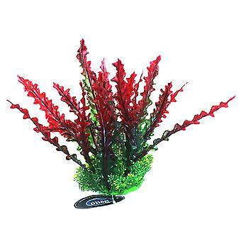 Betta Choice rosso pianta di plastica 20cm