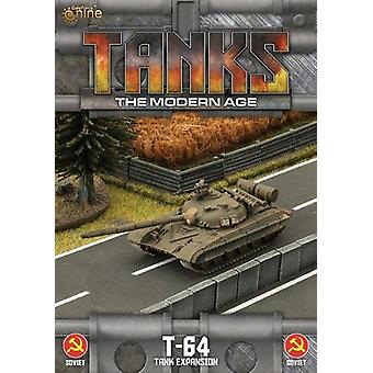 Tanks Skirmish Game The Modern Age Sov T-64 Expansion Pack