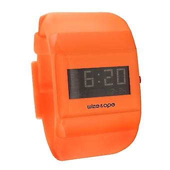 Wize and Ope Classic  Orange Digital  Watch WO-ALL-12