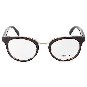 Prada Catwalk Inspiration PR 03UV 2AU1O1 49 Cat Eye Eyeglasses Frames