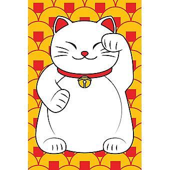 Poster - Lucky Cat 36x24
