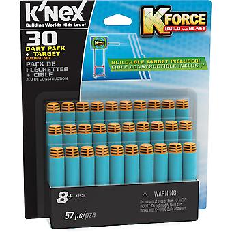 K'NEX K kracht 30 Dart Pack en doel