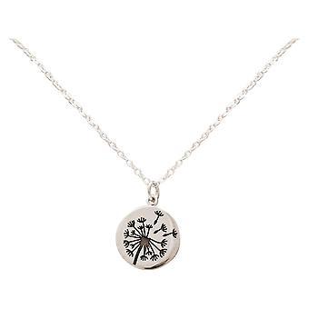 Gemshine Alpin Dandelion Pusteblume 925 Silver, high quality gold plated or rose