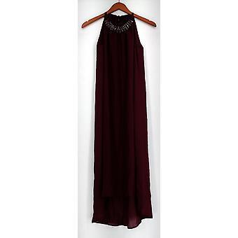 Fairchild kjole grime kjole m/Ribbon tie & pyntet halsen rød A427916