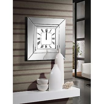Wellindal Lucy Wall Clock, 60X60 (Decoration , Clocks)